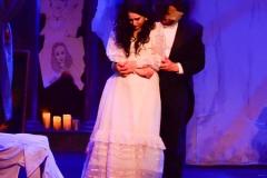 Rachel Dalton as Angelique and Steve McMahon as The Phantom