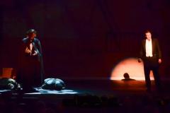 Steven McMahon as the The Phantom and John Smitherman as Raoul