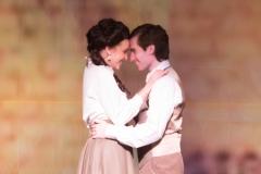 Rachel Dalton and Christopher Monaco as Angelique and Leon