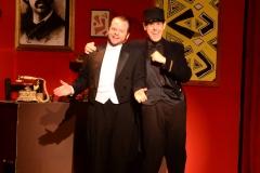 CJ Kish as Monsieur Manois and David Mooney as Inspector Ledoux