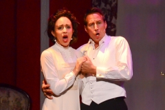Nicole Renna and John D. Smitherman as Christine and Raoul